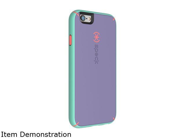 Speck Products MightyShell Heather Purple/Warning Orange/Aloe Green Case for iPhone 6 Plus / 6s Plus 73802-5195