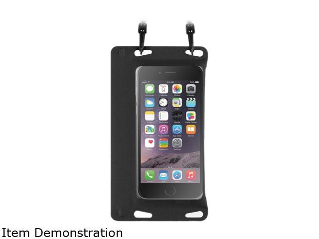 BasAcc Black Universal Double Sealing Waterproof Bag Case with Strap for Smartphones up to 5.5