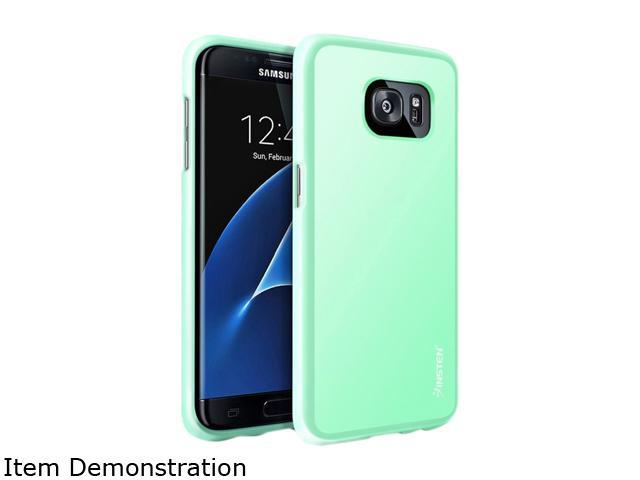 Insten Mint Green Pudding TPU Rubber Candy Skin Case Cover Compatible With Samsung Galaxy S7 Edge 2061789