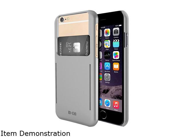 ID-ON STOR Silver Credit Card Storage iPhone 6 / 6s Case STR-PC0914-SLV