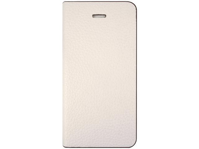 ID-ON TORO White Premium handmade flip case for iPhone 5 / 5s TOR-LTR0813-WHT