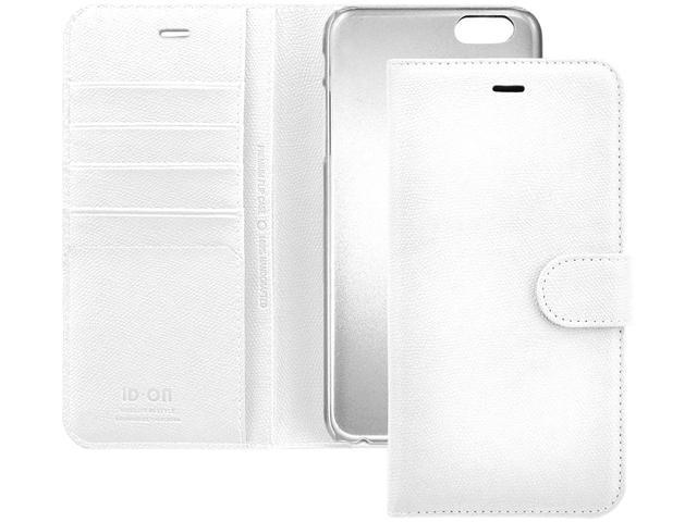 ID-ON TORO II White iPhone 6 Plus / 6s Plus Wallet Case TOR6P-LTR0115-WHT