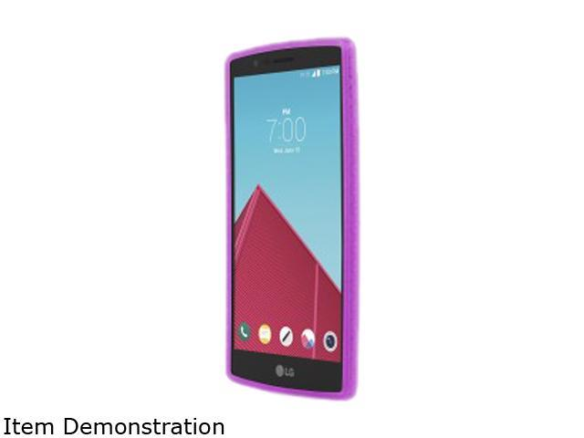 Incipio Octane Frost/Neon Purple Co-Molded Protective Case for LG G4 LGE-266-FPR