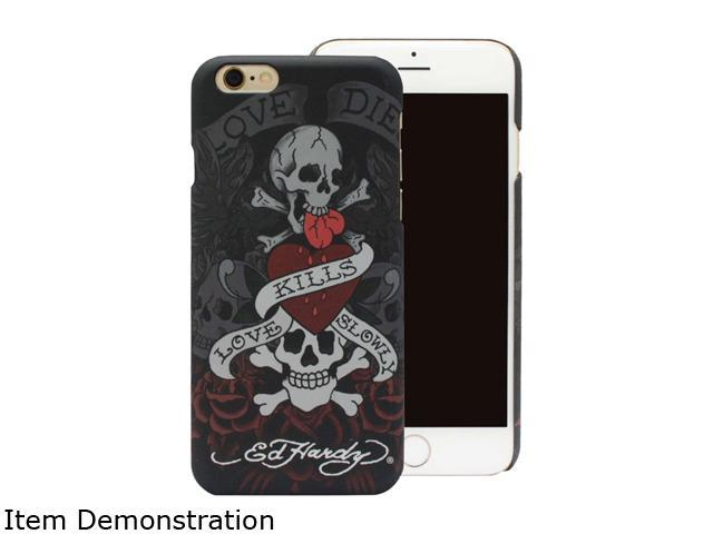 Choicee Love Kills Slowly Black Ed Hardy iPhone 6 Case EHIP61021