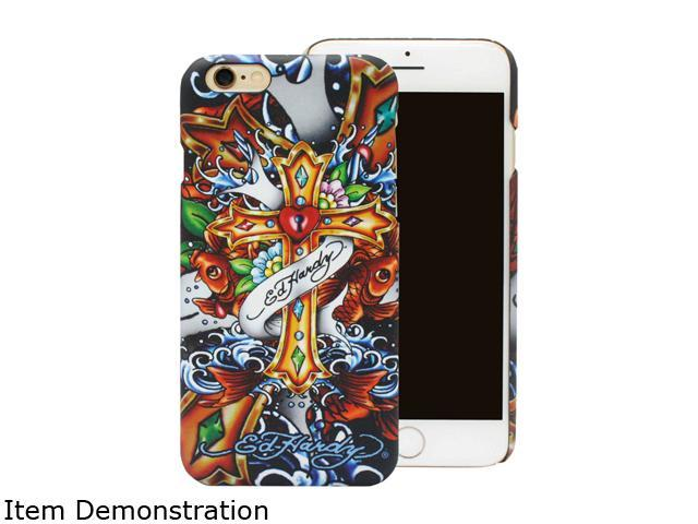 Choicee Cross Yellow Ed Hardy iPhone 6 Plus Case EHIP61591