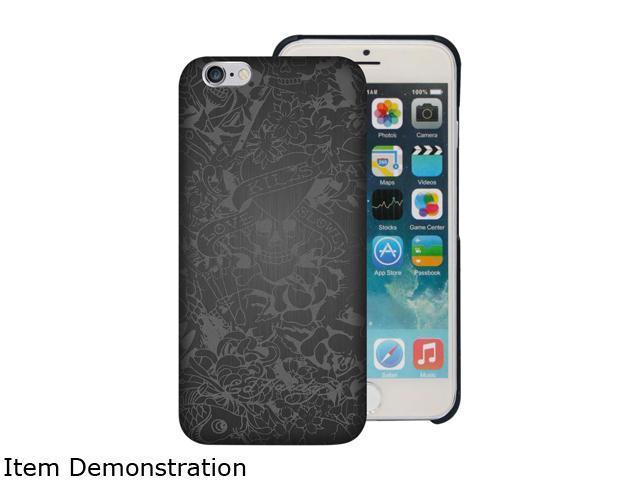 Choicee Metal Style Love Kills Slowly Mix Gray Black Ed Hardy iPhone 6 Case EHIP63071