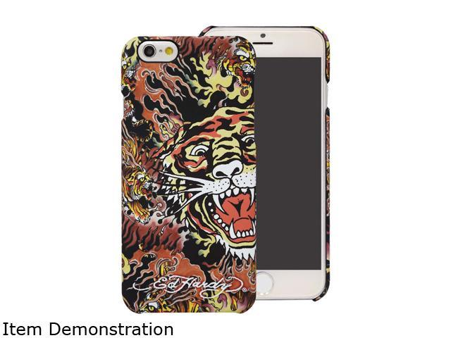 Choicee Tiger On Fire Brown Ed Hardy iPhone 6 Case EHIP61161