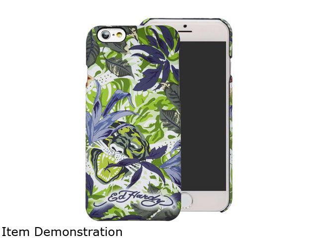 Choicee Tiger Jungle Green Ed Hardy iPhone 6 Plus Case EHIP61651