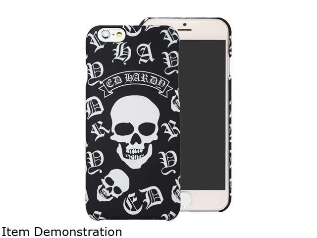 Choicee Skull Black Ed Hardy iPhone 6 Plus Case EHIP61631