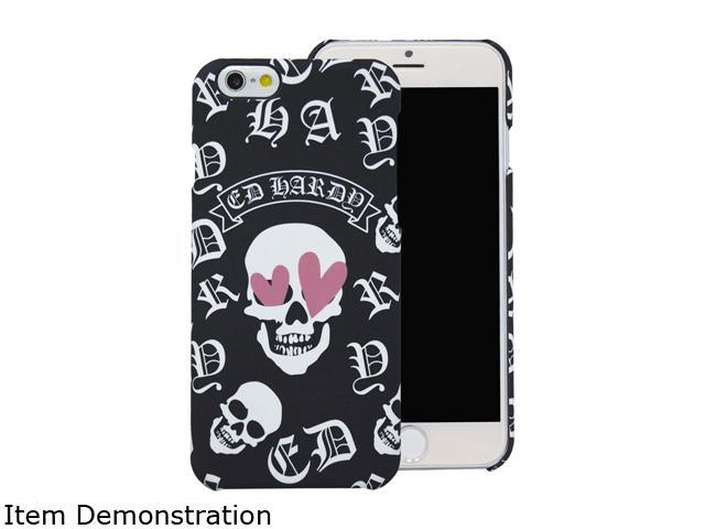 Choicee Skull Heart Eye Black Ed Hardy iPhone 6 Plus Case EHIP61671
