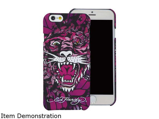 Choicee Tiger Butterfly Pink Ed Hardy iPhone 6 Plus Case EHIP61691