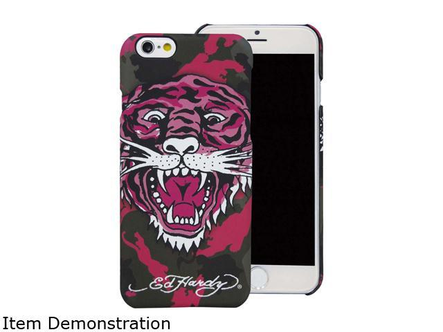 Choicee Pink Tiger Ed Hardy iPhone 6 Tiger Camouflage Pink EHIP61201