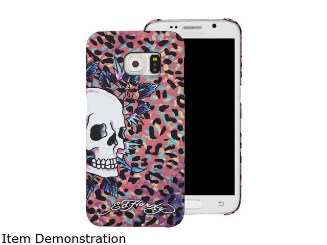 Choicee Pink Skull Ed Hardy S6 Skull Color Leopard Pink EHSS61121