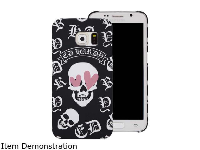 Choicee Black Skull Ed Hardy S6 Edge Skull Heart Eye Black EHSS61601
