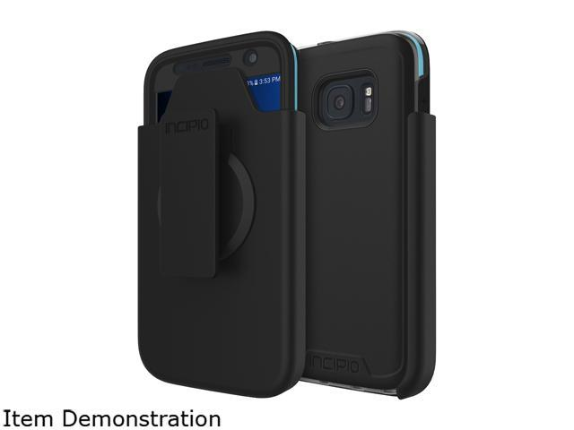 Incipio [Performance] Series Level 5 Black/Cyan Ultimate Drop Protection for Samsung Galaxy S7 SA-711-BKCN