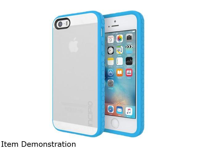 Incipio Octane Frost/Cyan Co-molded Impact Absorbing Case for iPhone SE / 5 / 5S IPH-1437-FCY
