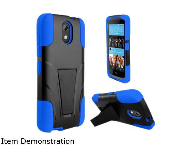 Zizo Blue Hybrid Cover w/ Kickstand for HTC Desire 526 HYB-HTC526-BL