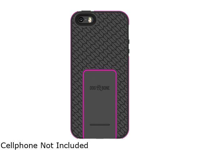 Dog & Bone Backbone Tread Pink iPhone 5s / 5 Wireless Charging Case DAB-IP5BW004