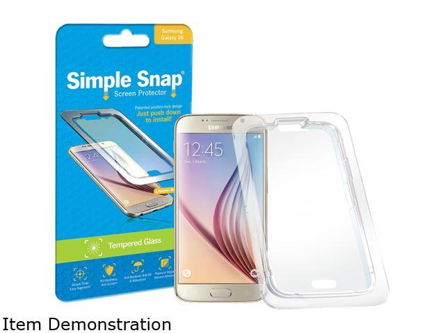 Simple Snap Samsung Galaxy S6 Tempered Glass Screen Protector SS0022