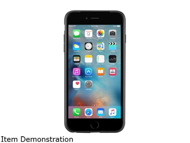 Evutec Black Apple iPhone 6/6s Plus Karbon SI Series AP-655-SI-KA1