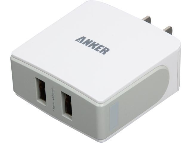 Anker 71AN1852W-WA White 18W / 3.6A Dual-Port Wall Charger