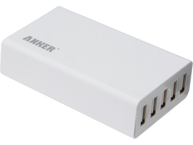 Anker 71AN25W-W5A White 5V / 5A 5-Port Wall Charger