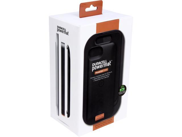 Duracell Powermat Black PowerSet II Kit for iPhone 5 with Access Case, Snap Battery and Powermat CSA5SB1