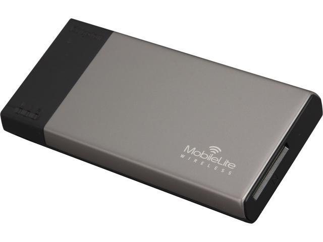 Kingston Black/Gray 1800 mAh MobileLite Wireless G1 MLW221