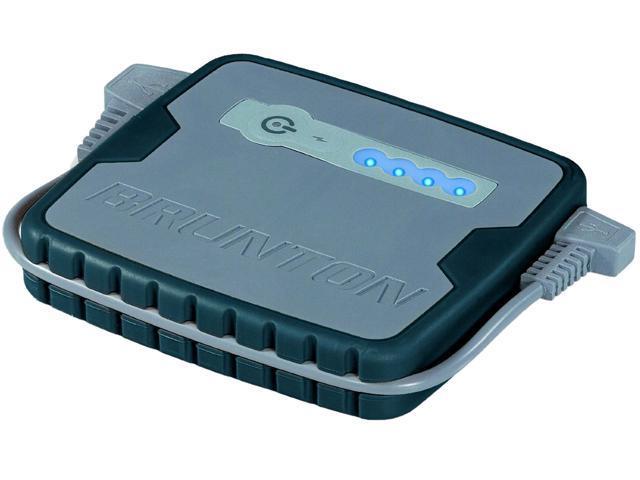 Brunton 3200 mAh Inspire  Rechargable Battery Black With USB F-INSPIRE-BK