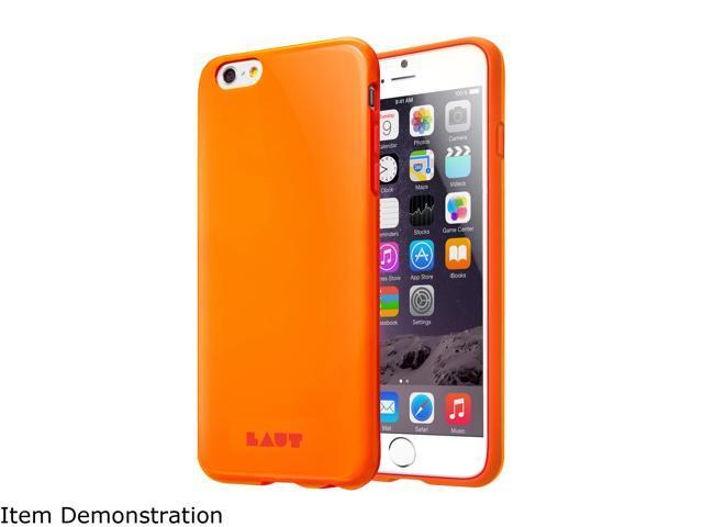 LAUT HUEX Orange Case For iPhone 6 Plus / 6s Plus LAUT_iP6P_HX_O
