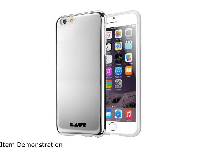 LAUT HUEX Silver Case For iPhone 6 Plus / 6s Plus LAUT_iP6P_HX_SL