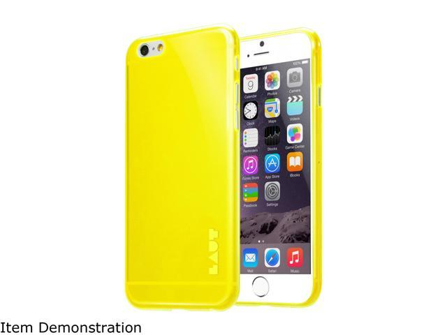 LAUT LUME Yellow Case For iPhone 6 / 6s LAUT_iP6_LM_Y