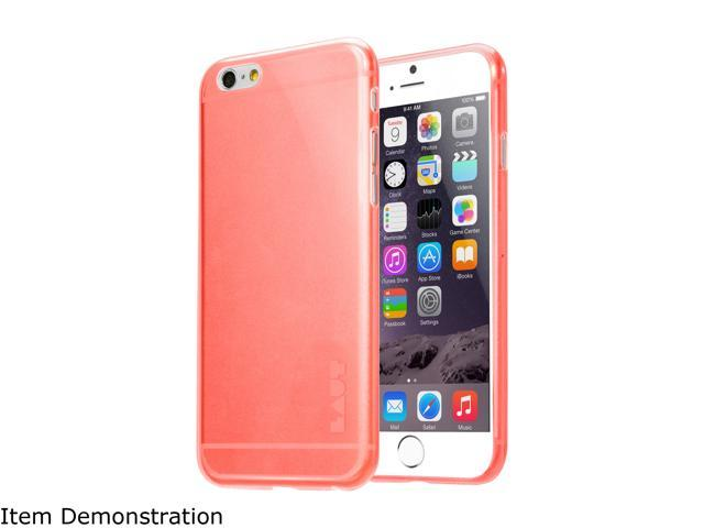LAUT LUME Red Case For iPhone 6 / 6s LAUT_iP6_LM_R