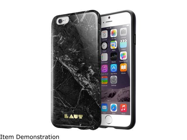 LAUT HUEX ELEMENTS Marble Black Case For iPhone 6 / 6s LAUT_IP6_HXE_MB