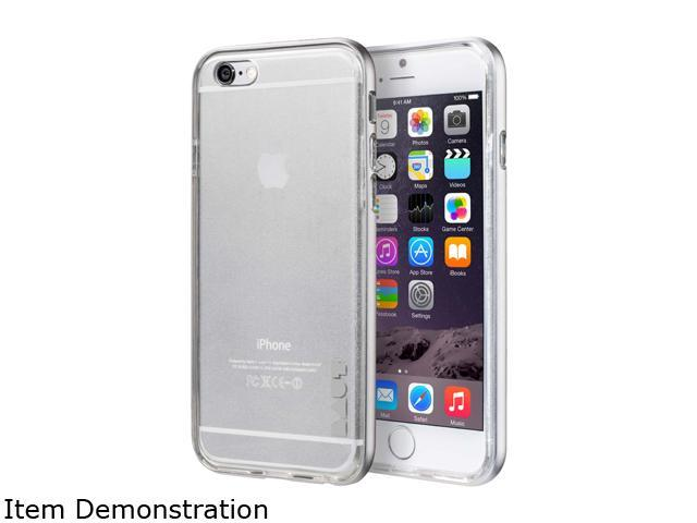 LAUT EXOFRAME Silver Case For iPhone 6 / 6s LAUT_IP6_EX_SL