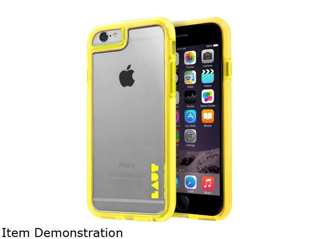 LAUT FLURO Yellow Case For iPhone 6 / 6s LAUT_IP6_FR_Y