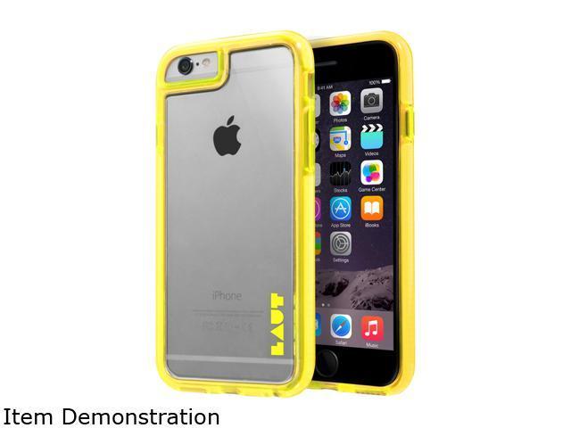 LAUT FLURO Yellow Case For iPhone 6 / 6s LAUT_IP6_FR_Y