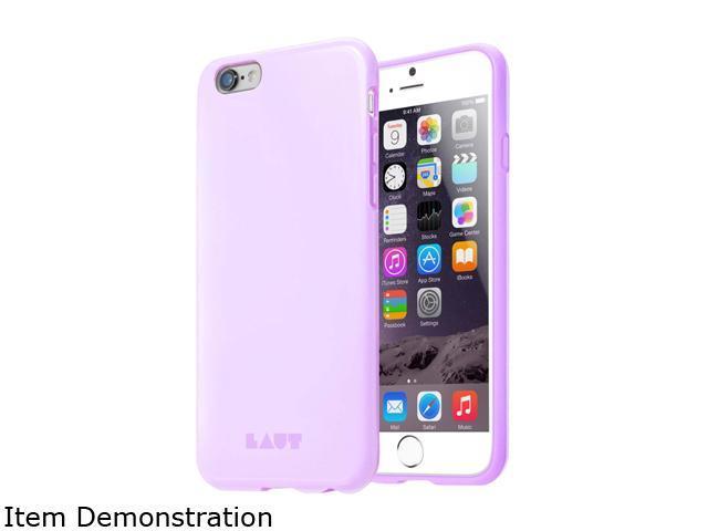 LAUT HUEX Pastels Purple TPU Case for iPhone 6 and 6s LAUT_IP6_HXP_PU