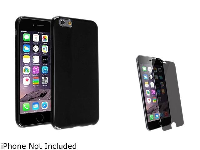 1X TPU Case compatible with Apple iPhone 6 Plus 5.5 , Black Jelly Note: Compatible with Apple iPhone 6 Plus only Keep your cell phone protected in style with this TPU rubber skin case accessory