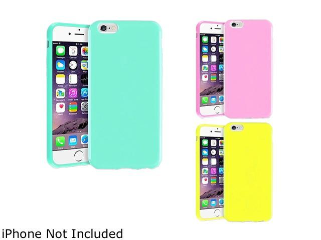 1X TPU Case compatible with Apple iPhone 6 4.7, Mint Green Jelly
