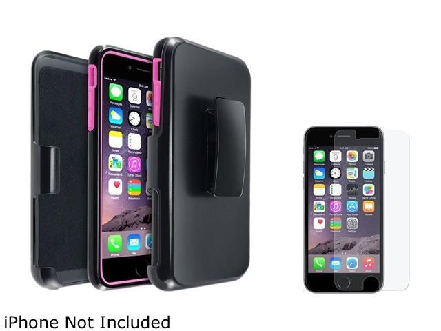 <ul><li><b>1X Hybird Case with Stand compatible with Apple iPhone 6 Plus 5.5, Hot Pink/Black</b></li><li><b> Note: Only compatible with Apple iPhone 6 Plus </b></li><li>Keep your cell phone protected