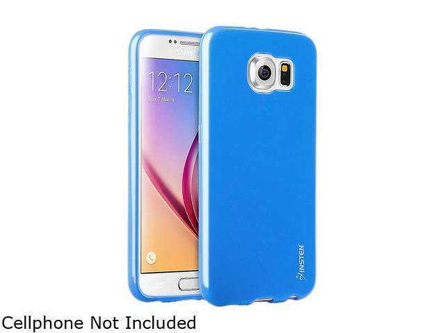 Insten Sky Blue TPU Rubber Candy Jelly Skin Case for Samsung Galaxy S6 2076374
