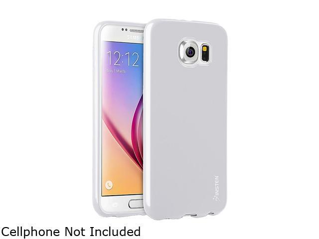 Insten White TPU Rubber Candy Jelly Skin Case for Samsung Galaxy S6 2076375