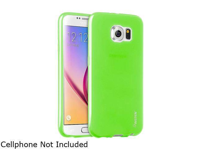 Insten Green Frosted TPU Rubber Candy Skin Case for Samsung Galaxy S6 2076383