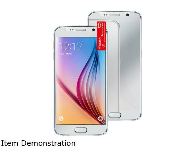 Insten Transparent Mirror LCD Screen Protector Film for Samsung Galaxy S6 2076396