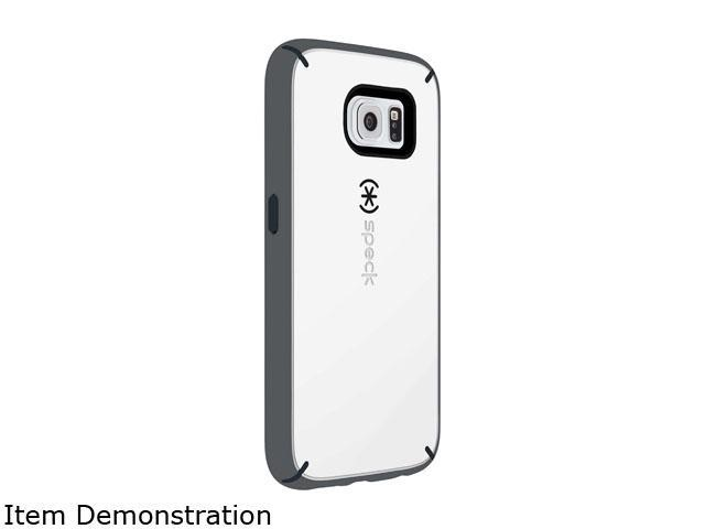 Speck Products MightyShell White Samsung Galaxy S6 Case SPK-A3702