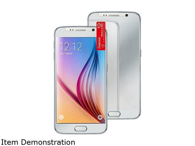Insten Transparent 2-Pack Mirror Screen Protector Film For Samsung Galaxy S6 2077380