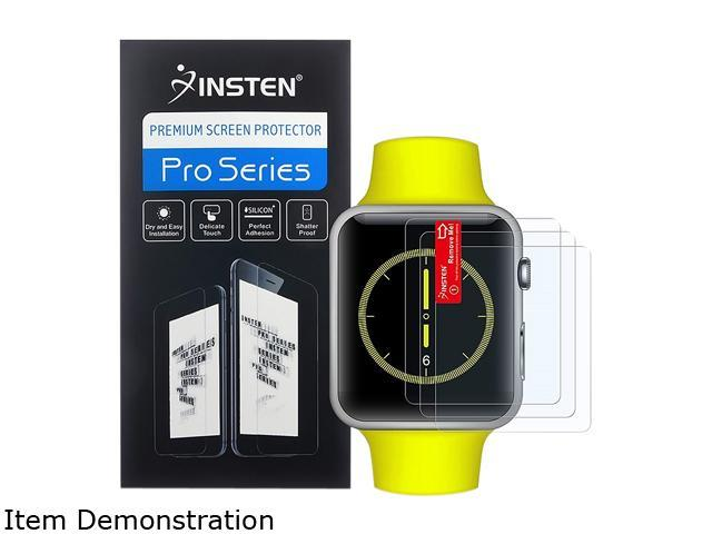 Insten Transparent 3-Pack Anti-Glare Matte Screen Protector For Apple Watch iWatch 42mm 2085211
