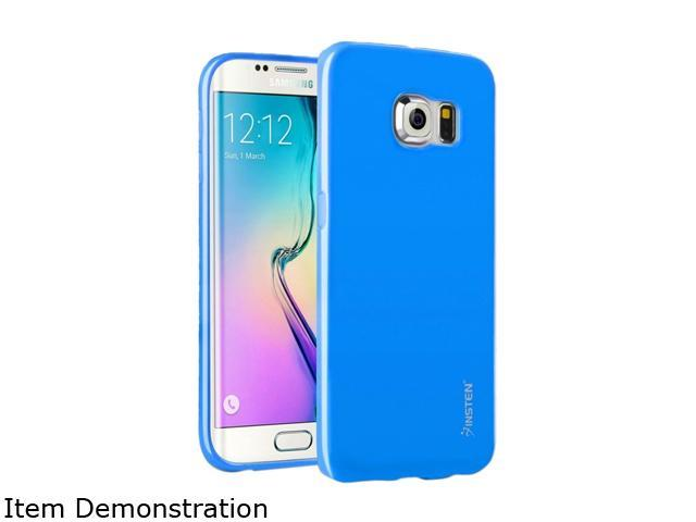 Insten Sky Blue Jelly TPU Rubber Skin Gel Back Shell Case For Samsung Galaxy S6 Edge 2105852