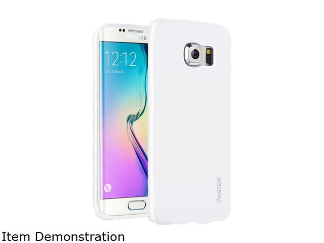Insten White Jelly TPU Rubber Skin Gel Back Shell Case For Samsung Galaxy S6 Edge 2105853